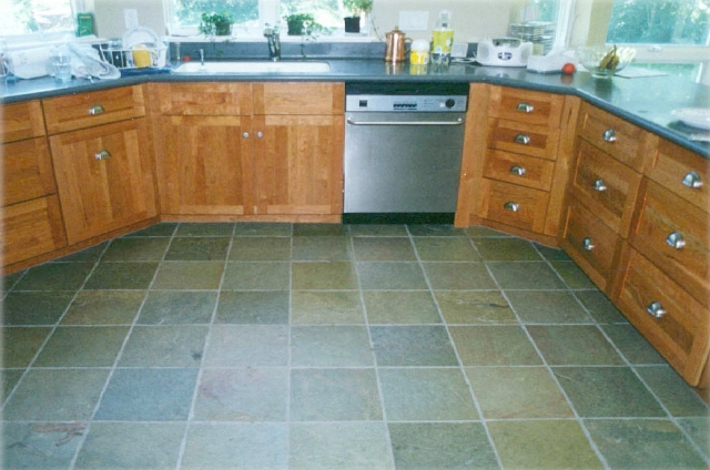 Slate Kitchen Floor